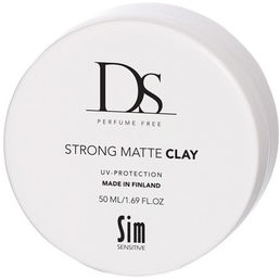 DS Strong Matte Clay hajusteeton vaha