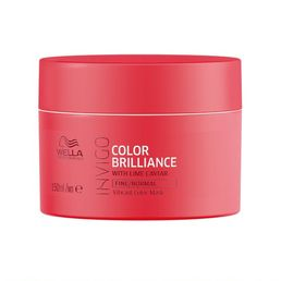 Wella Invigo Brilliance Mask Fine - hennoille hiuksille